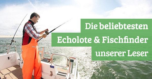 Die beliebtesten Fischfinder unserer Leser
