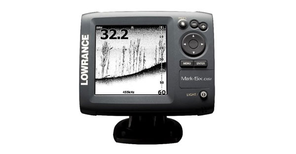 Lowrance Mark-5x DSI Fishfinder im Test